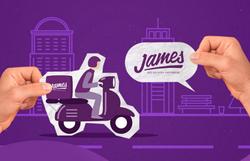 Aplicativo James lança serviço com entrega gratuita a clientes vulneráveis