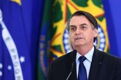 Bolsonaro recebe comandantes das Forças Armadas no Planalto (Foto: Evaristo Sá/AFP)