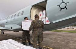 Força Aérea Brasileira leva vacina a indígenas do Amazonas (Bruna Lima/ CB/ DA Press)