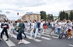 Jornalistas estão desaparecidos nos protestos da Bielorrússia (Foto: Sergei GAPON / AFP)
