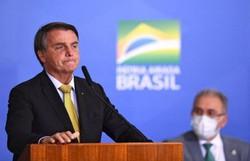 Bolsonaro comemora mil dias de governo com agendas pelo país e inaugurações (Foto: Evaristo Sa/AFP)