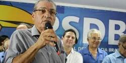 Ex-governador, Joaquim Francisco, deixa o PSDB (Divulgação)
