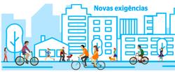Cidades pós-pandemia: tornar a relação com o ambiente urbano mais humana poderá ser a saída (Arte: DP)
