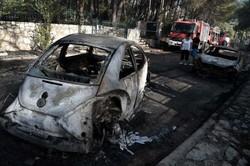 Incêndios ameaçam termelétrica na Turquia e assolam a Grécia (Foto: LOUISA GOULIAMAKI / AFP)
