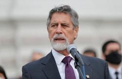 Presidente do Peru rejeita pedido de militares reformados para desconsiderar eleições (Foto: AFP / Peruvian Congress / Luka GONZALES)