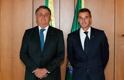 Bolsonaro nomeia André Brandão como novo presidente do Banco do Brasil (Foto: Alan Santos/Presidência da República)
