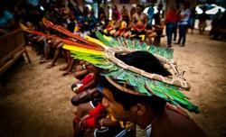 Novo coronavírus atinge metade das aldeias dos paiter suruí em Rondônia (Foto: Mayke Toscano/GEMT)