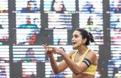 'Fora, Bolsonaro', grita jogadora de vôlei de praia em transmissão (Foto: CBV/Divulgação )