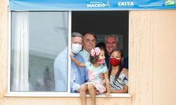 Governo entrega 500 casas populares em Maceió e inaugura viaduto (Investimentos beneficiarão cerca de 1,5 mil pessoas. Foto: Alan Santos/PR)