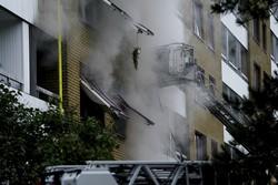 Explosão suspeita deixa 16 feridos em prédio de Gotemburgo, na Suécia (Foto: Bjorn LARSSON ROSVALL / TT News Agency / AFP)