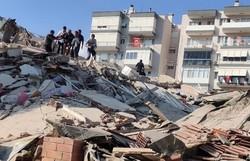 Sobe para 26 total de mortos por terremoto na Turquia e Grécia (Foto: Mehmet Emin Menguarslan / Anadolu Agency/ Divulgação )
