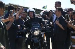 Bolsonaro participa de motociata em Presidente Prudente (Foto: José Cruz/Agência Brasil)