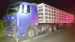 Colisão frontal entre caminhão e moto resulta na morte de duas pessoas, no Agreste (Foto: Divulgação/PRF)