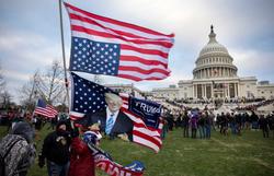 Julgamento de impeachment de Trump começará na segunda semana de fevereiro (Foto: Brent Stirton / Getty Images via AFP)