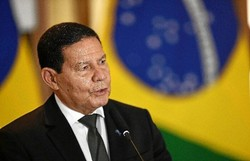 """Resposta da China a Eduardo foi """"diplomaticamente"""" errada, diz Mourão (Foto: Evaristo Sá/AFP)"""