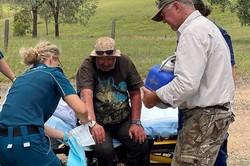 Encontrado homem que passou 18 dias perdido nos bosques da Austrália (Foto: QUEENSLAND POLICE SERVICE / AFP)