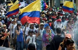 Colômbia pede diálogo com 'todos os setores' após protestos (Foto: LUIS ROBAYO/AFP)