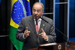 Chico Rodrigues estuda se afastar do Senado por 4 meses (Foto: HANDOUT/AFP)