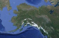 Alasca é atingido por pequenas ondas após alerta de tsunami por forte terremoto (Foto: Reprodução/Google Maps)