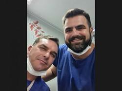 Flávio Bolsonaro sofre acidente no Ceará e precisa de atendimento em hospital (Foto: Reprodução/Instagram)