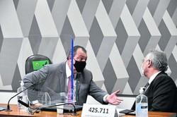 CPI da Covid: presidente e relator ficam em lados opostos (Foto: Leopoldo Silva / Agência Senado)
