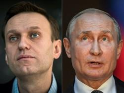 Opositor russo Navalny acusa Putin de estar por trás de seu envenenamento (Fotos: Tiziana FABI, Mladen ANTONOV / AFP)