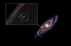 Cavidade gigante é descoberta na Via Láctea (Foto: Alyssa Goodman / Center for Astrophysics Harvard and Smithsonian / AFP )