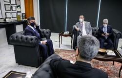 Presidente do STF recebe relatório da CPI da Pandemia (Foto: Fellipe Sampaio/SCO/STF)