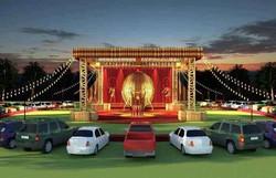 Circo ensaia projeto drive-in para superar pandemia do coronavírus (Circo Khronos/Divulgação)