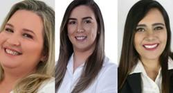 Em eleição histórica, Prefeitura de Frei Miguelinho será disputada por mulheres (Fotos: J3 Publiccidade/Gilvan Júnior/Fagner Felipe)