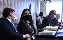 Advogada à CPI: Prevent Senior fez pacto com o 'gabinete paralelo' (crédito: Edilson Rodrigues | Agência Senado)
