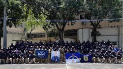 PRF presta homenagem ao policial rodoviário Souza Lima, morto no último domingo (PRF/Divulgação)
