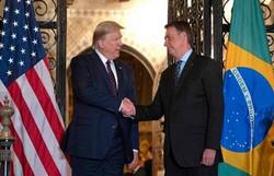 Bolsonaro diz que foi convidado por Trump para reunião do G7 (Foto: Jim Watson/AFP)