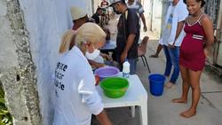Projeto Mãos Solidárias pede doações para formação de 'agentes populares de saúde' (Foto: Arquivo Pessoal/Divulgação)