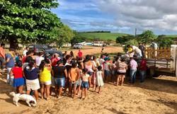 Com fechamento de hotéis e barracas de praia, moradores de Tamandaré dependem de doação (Foto: Cortesia.)