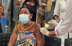 População indígena lidera índice de vacinação no Brasil (Foto: Marcos Fabrício/Prefeitura de Maricá)