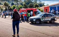 Polícia interroga autor de ataque em creche em Santa Catarina (Foto: Reprodução/Youtube)