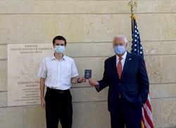 """Americano nascido em Jerusalém obtém passaporte com """"Israel"""" como lugar de nascimento (Foto: DEBBIE HILL / POOL / AFP)"""