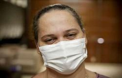 Enfermeira vence a Covid-19 e volta para a luta contra o vírus (Foto: Breno Esaki/Agência Saúde)