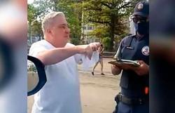 STF suspende inquérito contra desembargador que humilhou guardas municipais (Foto: Reprodução/Redes Sociais)