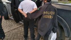 Homem suspeito de estuprar a própria enteada é detido, no Litoral Sul de Pernambuco (Divulgação/PF)