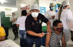 Fake news atrapalha vacinação contra Covid-19 em comunidades indígenas (Foto: Bruna Lima)