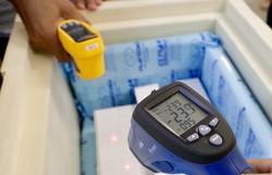 Pernambuco recebe 46,8 mil vacinas da Pfizer contra a Covid-19 (Foto: Heudes Regis/SEI)