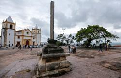 Restauração do Cruzeiro do Alto da Sé ainda não tem data nem custo estimado