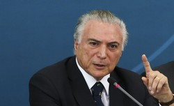 Michel Temer admite 'exagero' em propaganda pela reforma trabalhista (Foto: Antonio Cruz / Agência Brasil)