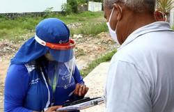 Compesa realiza recadastramento em comunidades no bairro da Imbiribeira  (Divulgação)
