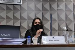 Advogada afirma que médicos não tinham autonomia em prescrição de kit Covid (Foto: Edilson Rodrigues/Agência Senado)