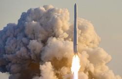 Coreia do Sul lança primeiro foguete de fabricação nacional (Foto: YONHAP / AFP)