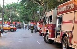 Vizinho joga produto químico em apartamento vizinho em São Paulo; Três foram intoxicados (Foto: Corpo de Bombeiros/Divulgação )