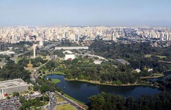 Com Ibirapuera, Covas anuncia reabertura de 70 parques em São Paulo a partir de segunda (Foto: Caio Pimenta/Secretaria de Turismo de São Paulo)